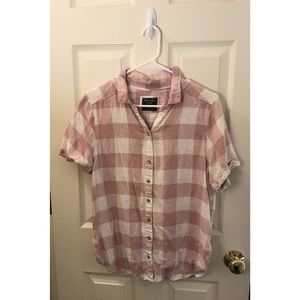 Abercrombie & Fitch Short Sleeve Flannel